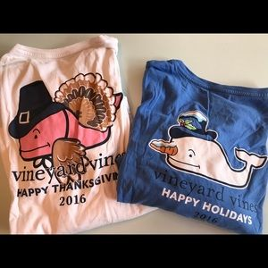 Vineyard Vines size L 2016 holiday shirts